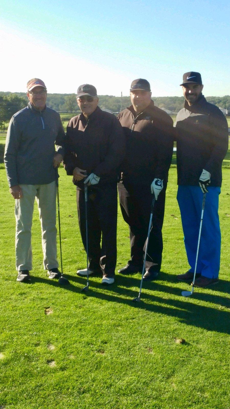 The mighty Team Agnello, including Jim Agnello, Vin Agnello, Chuck Senna and ABCCL Director, Joe Agnello
