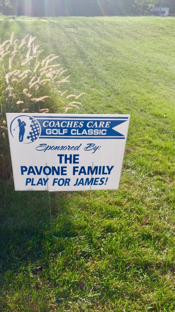 A huge thank you to ABCCL Director, Bob Pavone and his family, our lead sponsor for the Coaches Care Classic (Bob's also a Director of our charitable partner the Play for James Foundation)